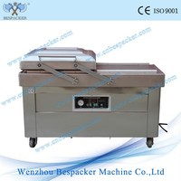 DZ-400 2SB Large Double Chamers Flat board Food Fish Vacuum Packing Sealer Machinery