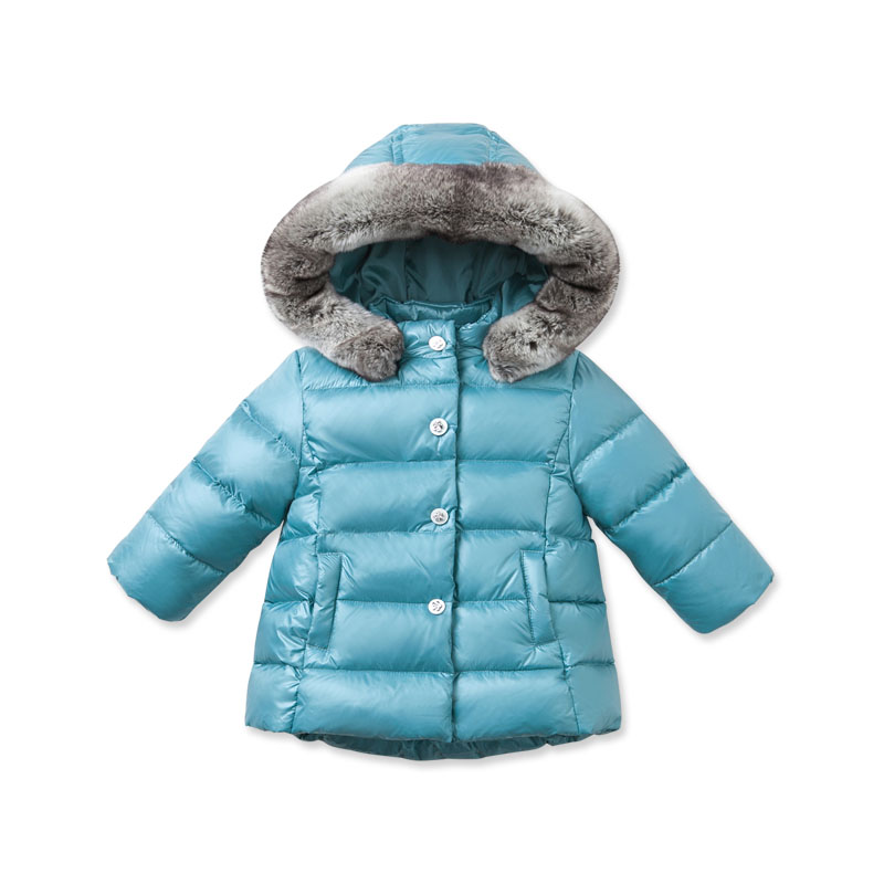 DB2790 dave bella 2015 autumn winter infant coat baby boy down jacket padded jacket outwear girls down coat down jacket