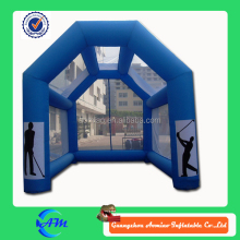 inflatable golf course with net golf course equipment inflatable mini golf course for sale