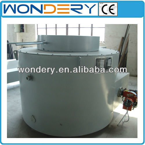 Oil-fired Aluminum Scrap Crucible Melting Furnace (Zinc, Lead, Tin)
