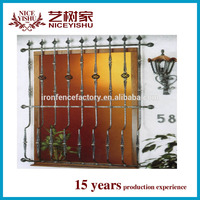 wrought iron window grill design for safety/window grills design for sliding windows
