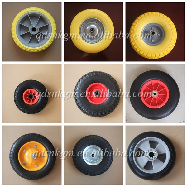 16 inch PU Foam wheel wheelbarrow tire