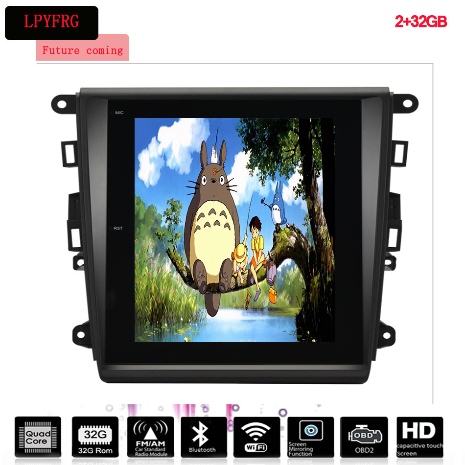 OEM 2 Din Android 12.1 Inch Car Audio DVD GPS Player With Navigation Bluetooth Radio For FORD Mondeo in multimedia System
