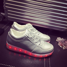 2016 Most popular led light running shoes with led light up short time shipping quickly supply cheap price hot sale