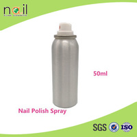 Hot seling 60ml private label nail polish spray, free samples nail polish