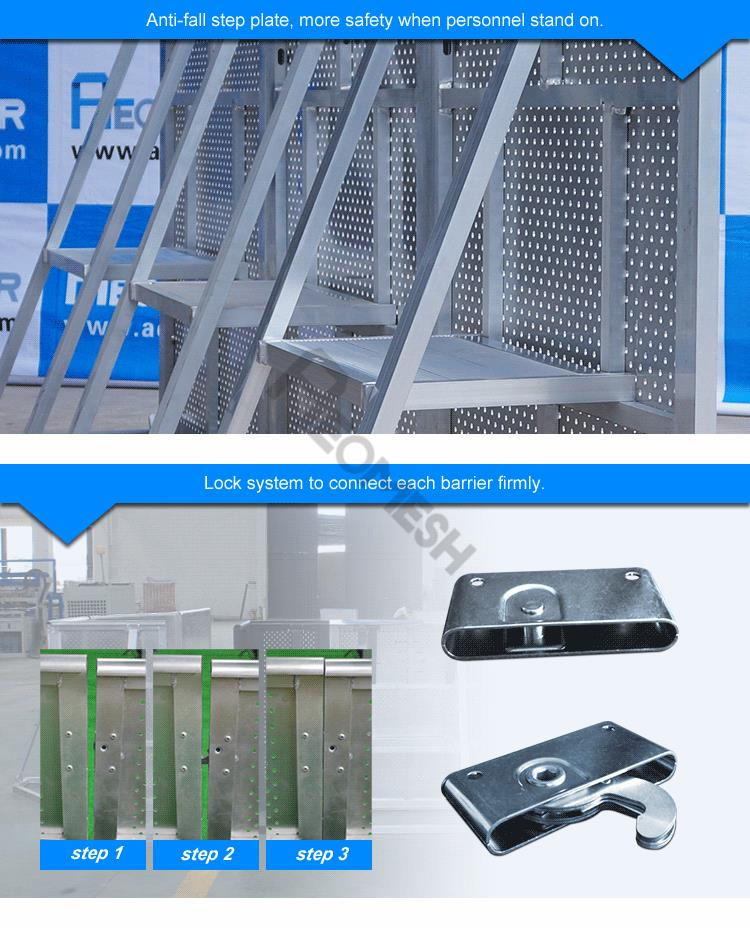 AEOMESH High Quality Mojo Barrier Road Barrier Safe System