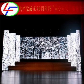 china high quality p5 stage background high resolution led displays /indoor p5 HD rental video wall