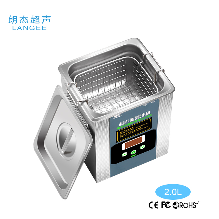 2019 Amazon Ebay Hotselling 0.5l 0.75l 1.3l 2l 3.2l 4.8l 5l 6.8l 11l Digital Ultrasonic Cleaner with Heater Timer MCU Sweep