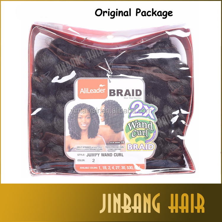 Alibaba Online Shopping Janet Crochet Marley Afro Twist Bounce Braid Braid Hair Extension 2x Value Jumpy Wand Curl