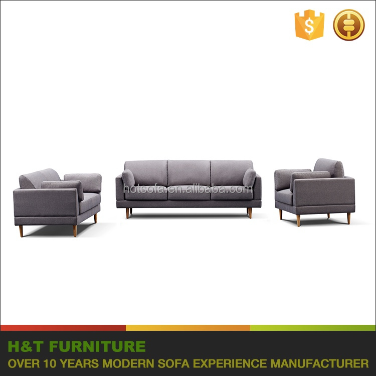 Home Furniture Living Room New Modern Stationary 3 2 1 Sofa Set Design