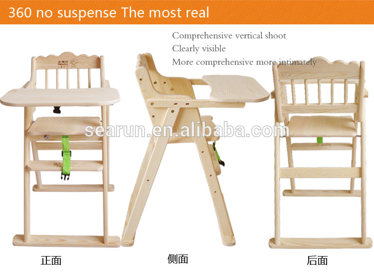 Wooden Baby Dinning Chair Children Table And Chair