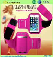 Free sample For Apple Iphone 6 Sport Armband Case , Cell Phone Armband , mobile Phone Arm bag