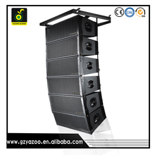 YAZOO PR-210 dual 10inch hot sale 2-way pro PA system powered line array speaker system.