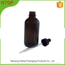 Factory direct supply 125.7ml bottle glass cosmetics