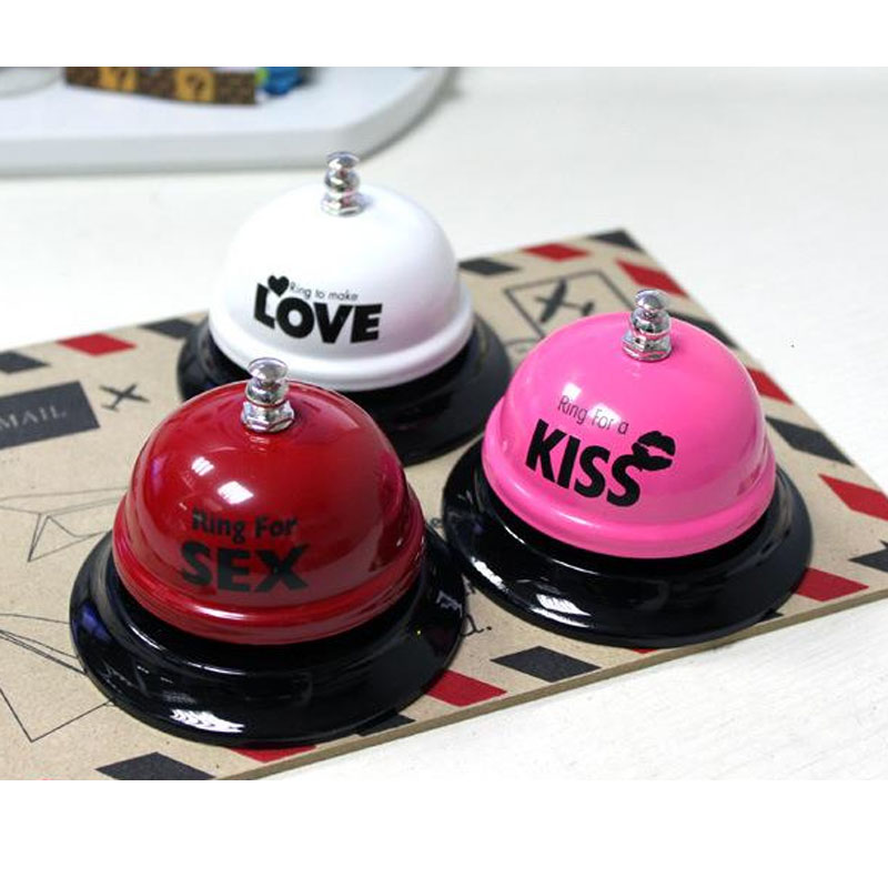 Lovers Gift Ring for Sex Table Bell