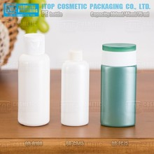QB-BA500 500ml weight and thickness flexible beautiful curve 500ml big round pe liquid bottle