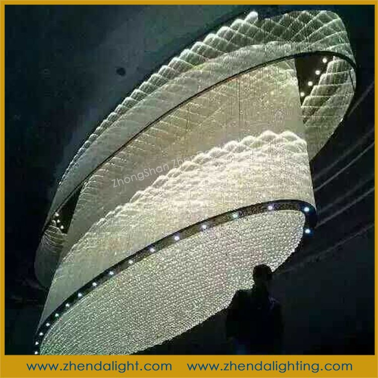 Bottom boat shaped oval K9 crystal ceiling <strong>lamp</strong> wholesale