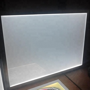 Size of A2, A3, A4 photo frame ultra-thin crystal led light box