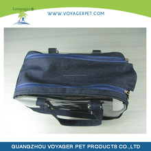 Lovoyager Clear PVC Plastic Pet Carrier for Dogs