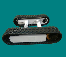 0.5 ton Rubber Track Crawler Chassis Undercarriage /Rubber Track Undercarriage