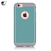 Ultra Slim PU+Silicon 4.7 Inch Mobile Phone Back Cover For iPhone 6s