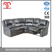 Living room promotion corner recliner sofa furniture SX-8989