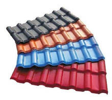 Fast and easy installation pvc plastic roof tile
