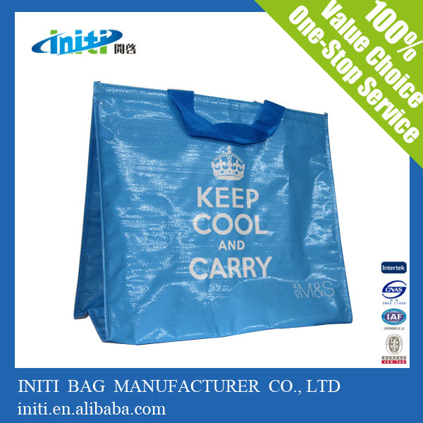 2015 new product pp woven lamination shopper bag