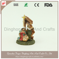 China Handmade Craft Wholesale Figures Decoration Porcelain Nativity Figurines
