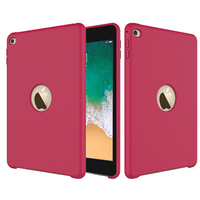 Hot New Product Colorful Silicone Material Shockproof Tablet Case For iPad mini 4 Cover