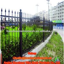 Zinc steel fence ring-type three beam type bounding wall Wrought iron fence
