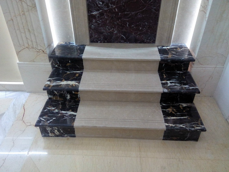 Cheapest factory prices promotional popular white marble stone staring