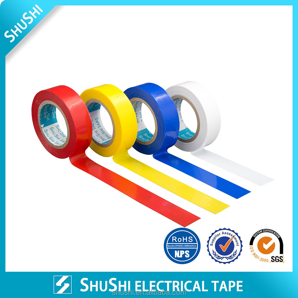 Rubber Glue Base High Insulation PVC tape wrapping motorcycle