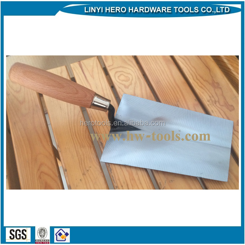 forged bricklaying trowel