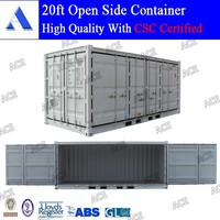 Brand new 20ft container open side / side loader container
