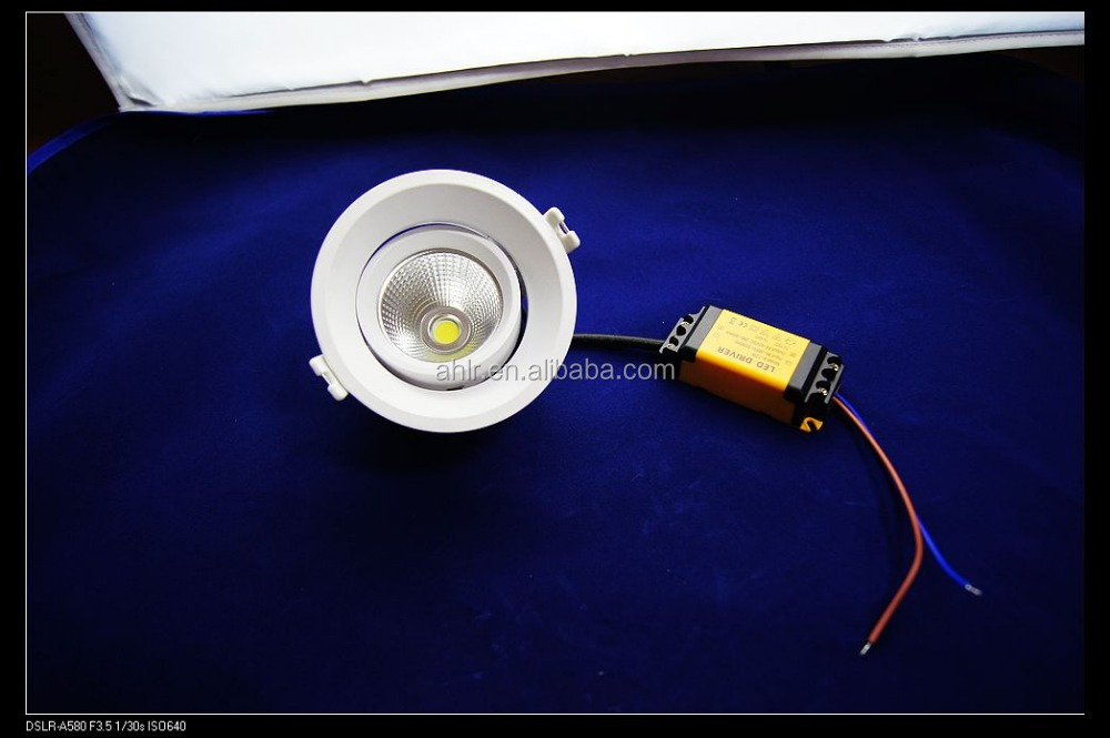 2016 hot sale type CE-LVD,EMC dimmable adjustable led downlight 30w
