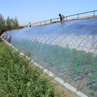Clear blue color Agricultural application Greenhouse PVC plastic film