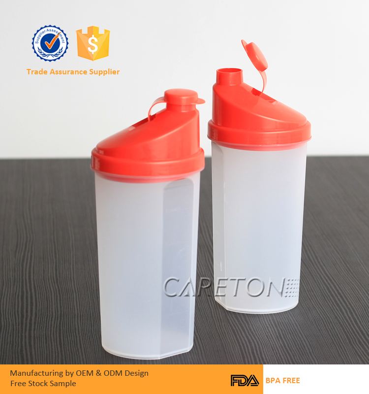 700ml Classic BPA Free Protein Shaker Bottle