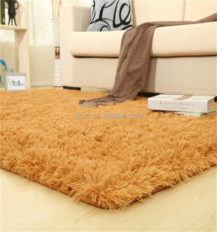 POLYESTER pure silk carpet
