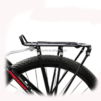 alloy mountain bicycle rear carrier rack