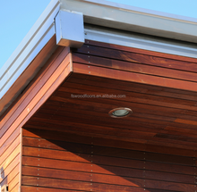 Ipe wood cladding facade from YORKING HARDWOOD