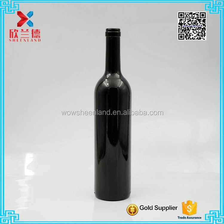 Cork Sealing Type and Glass Material Bottle Of Red Wine
