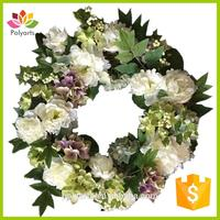 Super full artificial wreath spring wreath artificial wreath with great price