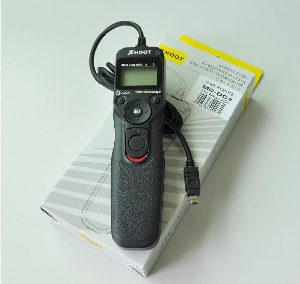 Digital Camera LCD Timer Remote MC-DC2 for Nikon D90 D3100 D5000