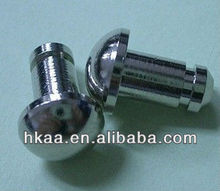 nickel plated steel dome head pin, round head pin