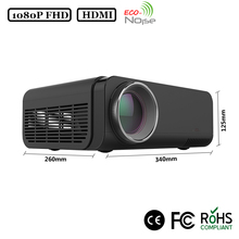 Full HD 1080P LED Projector Professional Home Projector