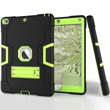Rugged shock armor convertible case for iPad air 2 9.7 cover housing high impact