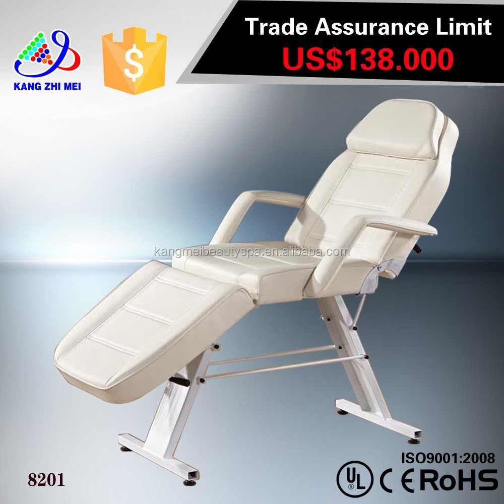 jade roller massage bed/infrared jade massage bed/electric foldable massage table (KM-8201)