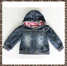 Wholesale the most popular baby fancy denim jackets in new model