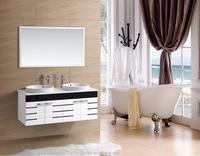 Perfect hangzhou cheap modern pvc bathroom cabinet vanity set